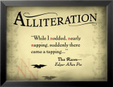 Alliteration Print