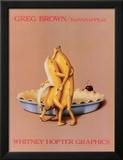 Bananappeal Poster af Greg Brown