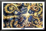 Dr. Who - explodierende Tardis Kunstdrucke