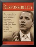 Odpowiedzialność Plakaty