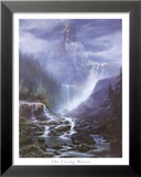 The Living Waters Print by Danny Hahlbohm