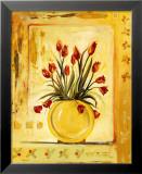 Gelbe Vase Kunstdrucke von Gregory Gorham