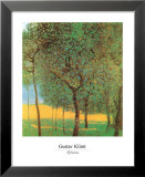 Orchard Posters by Gustav Klimt