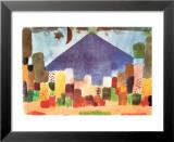 Notte Egiziana Print van Paul Klee