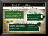 Test Preparation Posters