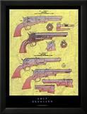 Colt Revolver Print