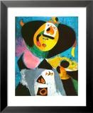 Portrait N *1 Kunstdruck von Joan Miró