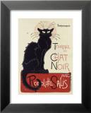 Tournée du Chat Noir, ca. 1896 Plakat av Théophile Alexandre Steinlen