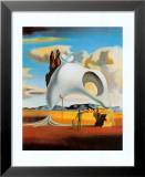 Atavistic Vestiges after the Rain, 1934 Kunst av Salvador Dalí
