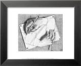 Mains dessinant Affiches par M. C. Escher