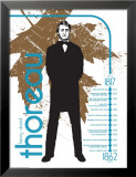 Henry David Thoreau Poster by Jeanne Stevenson