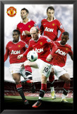 Manchester United - players Affiches