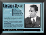 Langston Hughes Poster