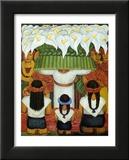 Das Blumenfest von Santa Anita, 1931 Poster von Diego Rivera