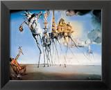 Sankt Antonios Eremitens frestelse, ca 1946 Affischer av Salvador Dalí