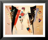 Accord Reciproque 1942 Poster par Wassily Kandinsky