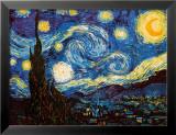 La nuit étoilée, vers 1889 Affiche par Vincent van Gogh