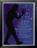 Macbeth: Out, Out, Brief Candle! Posters by Christopher Rice