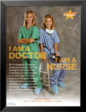 Doctor & Nurse Affiches