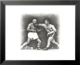 Rocky Marciano: le coup de poing Posters par Allen Friedlander