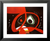 Kopf Kunstdruck von Joan Miró