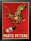 Porto Pitters Poster by Leonetto Cappiello