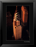 New York, New York - Chrysler Building Kunstdrucke von William Van Alen