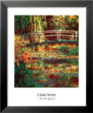Water Lily Pond Plakat af Claude Monet