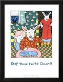 Mantén tu boca limpia Láminas por Nancy Carlson