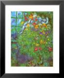 Bouquet Ardent Poster von Marc Chagall