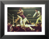 Dempsey & Fipro Poster par George Wesley Bellows