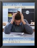 Get Help Plakat
