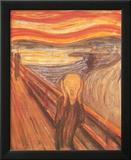 El grito, c.1893 Arte por Edvard Munch