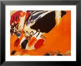 Impression III, Concert Poster van Wassily Kandinsky