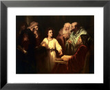 Christ in the Temple Print by Heinrich Hofmann