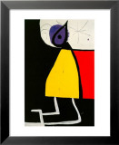 Woman in the Night Posters av Joan Miró