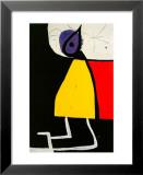 Donna nella notte Stampe di Joan Miró