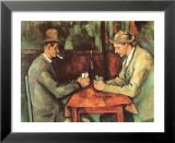 Kartenspieler, ca. 1890 Kunstdrucke von Paul Cézanne