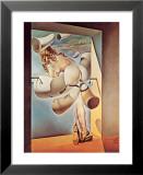 Autosodomisierte jugendliche Jungfrau Kunstdrucke von Salvador Dalí