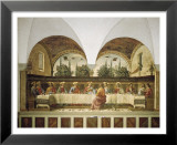 Last Supper Art by Domenico Ghirlandaio