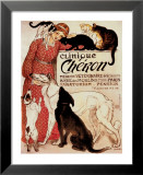 Clinique Cheron, c.1905 Art by Th&#233;ophile Alexandre Steinlen