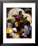 The Flower Vendor Print by Diego Rivera