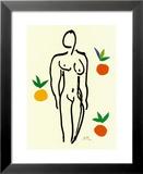 Nu Aux Oranges Kunstdrucke von Henri Matisse