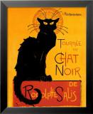 Chat Noir Photographie par Théophile Alexandre Steinlen