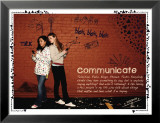 Communicate Affiches par Jeanne Stevenson