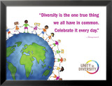 Celebrate Diversity Affiches