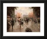 Une Parissienne Art by Christa Kieffer