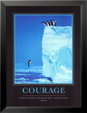 Courage Posters par Steve Bloom