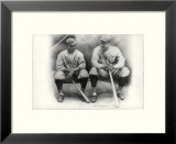 Ruth and Gehrig Prints by Allen Friedlander