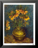 Bell Lilies in a Copper Vase Art by Vincent van Gogh